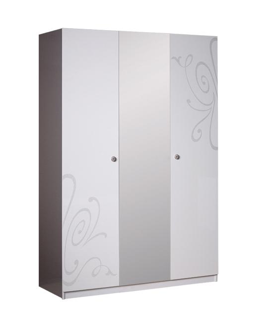 Шкаф 3 дверный с зеркалом