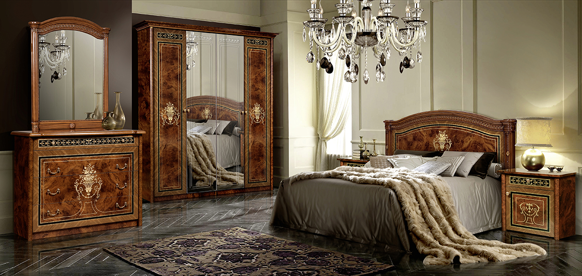 Спальня Карина-3 Орех