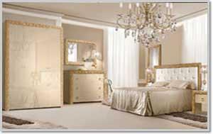 Купить Спальня Тиффани Premium Капучино / Золото в Минске
