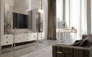 Модульная гостиная «Римини Solo» Интерьер 1
