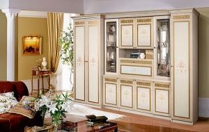 Модульная гостиная Карина-3 Композиция интерьер4 (Беж)
