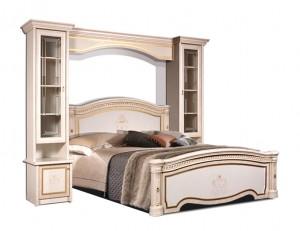 Кровать Карина-3 с прикроватным мостом
