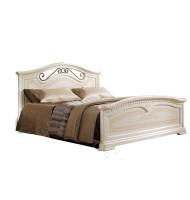 Кровать 2-х спальная (1,6 м) (с двумя спинками) без лежака и матраца