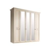 Шкаф 5-и дв. (с зеркалами) для платья и белья