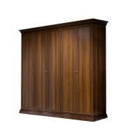 Шкаф 5-и ств. для платья и белья (без  зеркала)