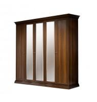 Шкаф 5-и дв. для платья и белья (3 зеркала)