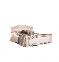 Кровать 2-х спальная (1,6 м) (2 спинки — шелкография) без лежака и матраца