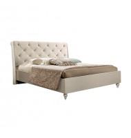 Кровать (1,4 м) (ВЕЛЮР) без лежака и матраца