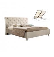Кровать 2-х спальная (1,4 м) (ВЕЛЮР) с подъемным мех. без матраца
